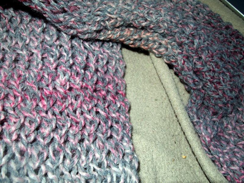 Loom Knit Keyhole Scarf Craftasaurus Rex