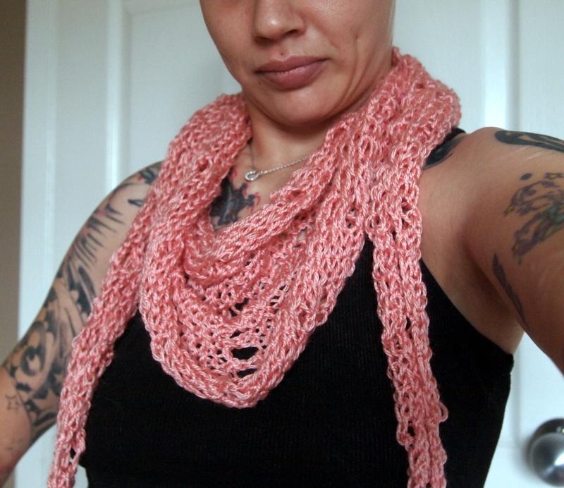 loom knit karius | Craftasaurus Rex