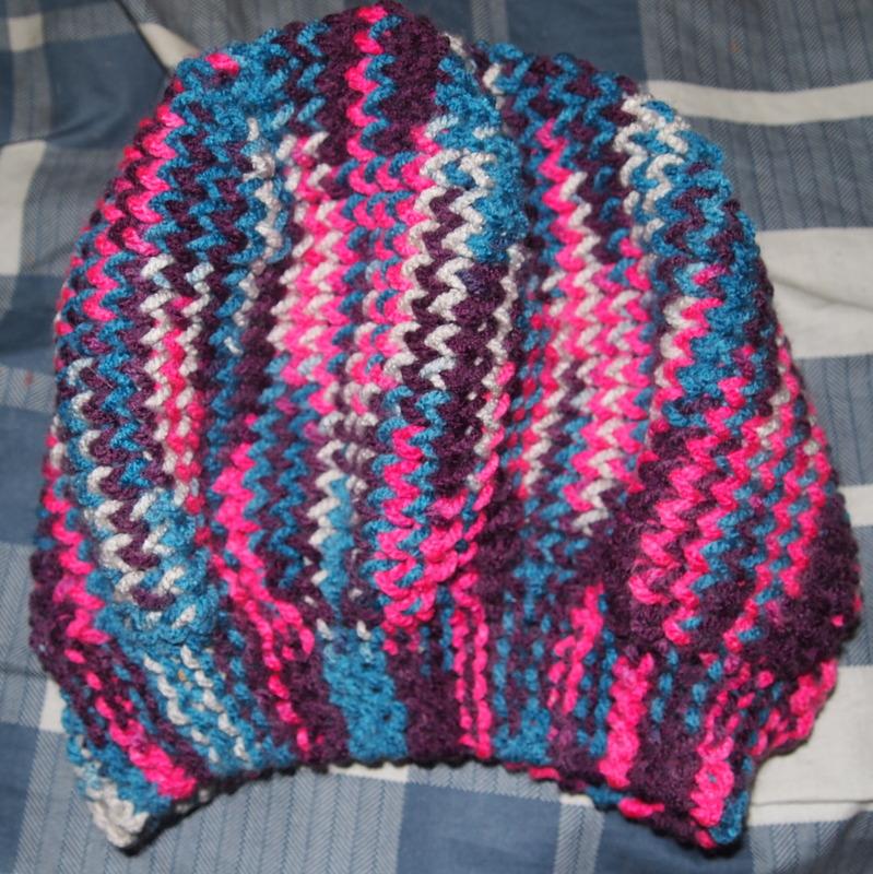 Loom Knit Sideways Beret Pattern/Tutorial (FREE!) Craftasaurus Rex